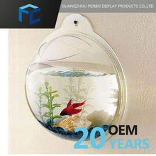 Top Selling Small Order Accept Custom Design Acrylic Sphere Fish Tanks