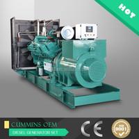 1000kw CCEC generator sets,1250kva electrical generator diesel best price good quality