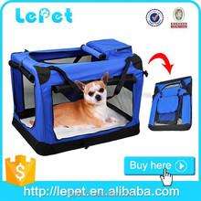 Pieghevole portatile cane sacchetto di plastica morbido- lati allevamento di grandi dimensioni cabina