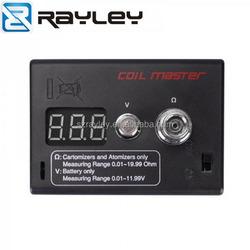 coil master diy vape kit ohm meter RDA tester voltage and resistance ohm meter for ecig