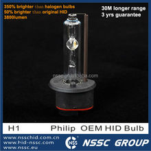 2015 EMARK certified H1 HID Bulb 3 years warranty NSSC yeaky hid bulb D1S D2S D2R D3S