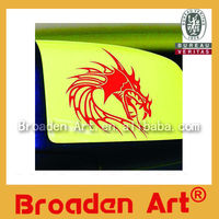 promotional removable window decal sticker printing