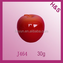 30g red apple fruit shape cream jar