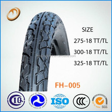 china motorcycle tire factory good quality motorcycle tire 3.25-18 TL