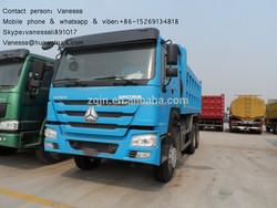 diesel used cars howo 371hp 30tons dump truckused cars for sale in south korea