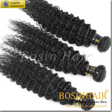 wholesale price 100% virgin hair 22 inch curly hair extensions