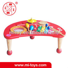 wooden musical table toy education