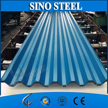 RAL COLOR prepainted corrugated metal roofing/steel roof tile