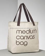 reusable cotton shopping bag /recycled cotton canvas