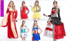 Instyles 2014 halloween carnaval partido das mulheres de 70 s 80 s pink ladies meninas traje vestidos de festa