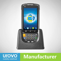 PDA handheld qr code scanner.android PDA Urovo i6200s Data terminal