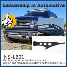 Automobile Manufacturer universal 4*4 car anti theif steel mount holder upper windshield firm led light bar mounting bracket