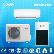 Solar power source and cooling and heating air conditioner