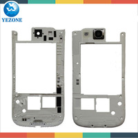 Mobile Phone Replacement Housing Cover For Samsung Galaxy S3 T999 i747 Middle Frame, For Samsung T999 Midplate