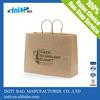 Tote Kraft paper Bag/ 2015 fashion Tote Kraft paper Bag