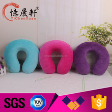 Supply all kinds of high end travel pillow,air filled travel neck pillow,memory foam u neck/travel pillow