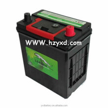 12 volt 36AH maintenance free car battery with good quality