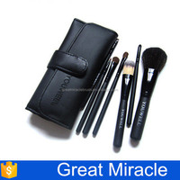 New design horse hair wholesale makeup brushes set