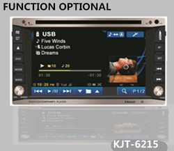 universal double din auto radio car dvd 2 din with function optional