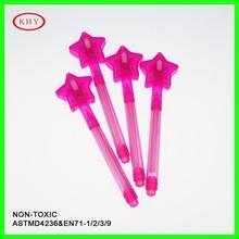 New designed star cap invisible UV spy pen