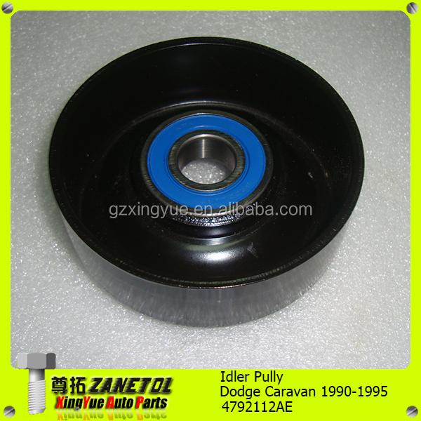 Dodge Dynasty 1990 Idler Tensioner Pulley: Idler Pulley 12580773 Serpentine Tensioner System Belt OEM