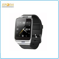 Touch Screen Unlocked Watch Cell Phones + Pedometer + Bluetooth Smart Watches For All Android for iPhon 6 6+