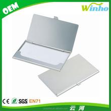 Winho metal business card case holder