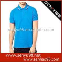 Custom 2013 latest fashion 95% cotton,5% spandex man polo t-shirts