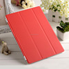 pu leather magnetic smart cover for apple ipad air , for apple ipad air leather case