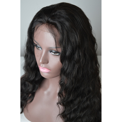 Cheap 22 Inch Extra Long Mongolian Virgin Loose Curly Lace Hair Pineapple Wave Natural Color Lace Front Wig With Baby Hair
