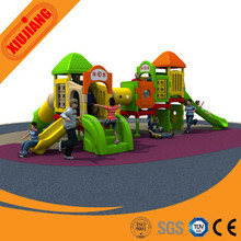 Multifunctional colorful safety adventure playground, kids outdoor play gym