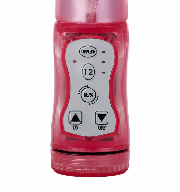 Vente chaude 12 modes de vibration vibrateur de lapin sex toys pour femmes