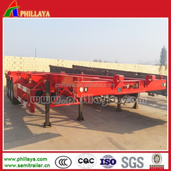 Hot Sale Container Truck Semi-trailer with Lift Axle Air Suspension For 20ft 40ft