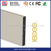 High Capacity Solar Charger Power Bank With Solar Cell for Outdoor Using