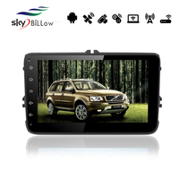 8'' VW universal 2 din android car dvd with built-in WIFI and bluetooth
