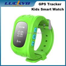 french SOS GPS/LBS/SMS/MP3 tracking smartband children safe positioning bracelet kids smart watch Q50
