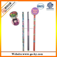 Lower price promotional wooden colour pencil