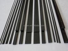 Chinese factory well made carbon fiber flat strip bar plate