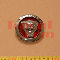 70mm Front Grille Emblem Badge For Jaguar XJ XJL