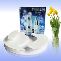 High Quality acrylic cosmetic display counter / cosmetic display rack OEM factory