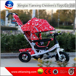 Wholesale high quality best price hot sale child tricycle/kids tricycle baby stroller with air wheel