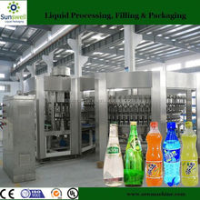 Small capacity soft drink canning machinery in China