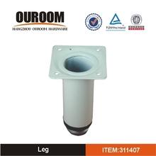Standard Design Practical OEM Technical White Metal Table Leg
