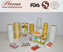 FDA Approved pvc cling film for machine for food wrapping