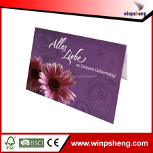 flower types greeting card pictures