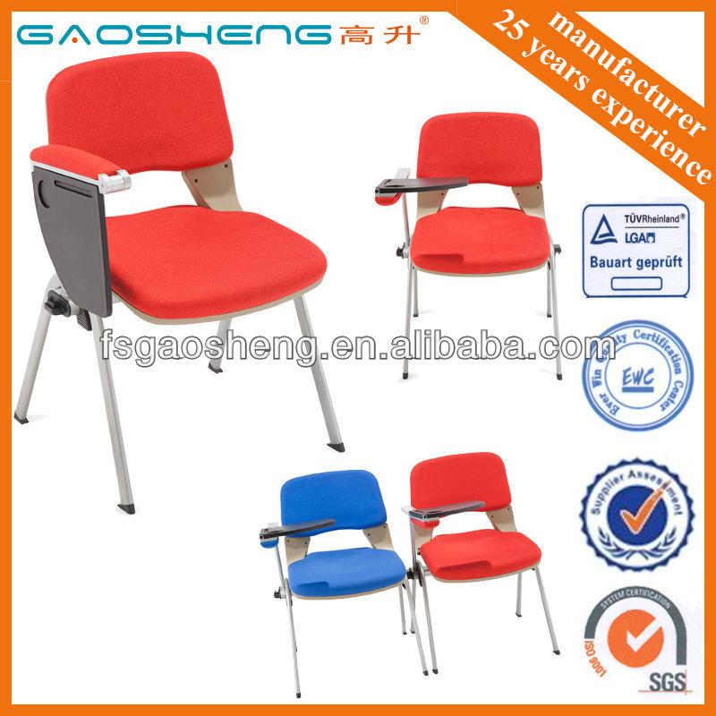 Vente chaude tudiants chaise avec bras tablet fabricant for Chaise avec bras