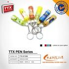 Produto mais vendido 2015 personalizado escrever e pendurar caneta esferográfica de plástico made in china