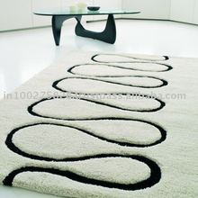 Modern Design India Made Durable Wool Rug