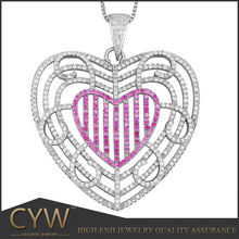 CYW charm 925 sterling silver accessories, China manufacturer wholesale