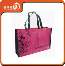 Customized lamination tote non woven shopping bag
